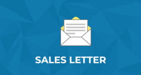 SALES LETTER